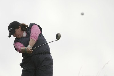 USA's Meg Mallon during a practice day at the 2006 Weetabix Women's British Open at the Royal Lytham and St. Annes Golf Club. August 1, 2006.Photo by Pete Fontaine/WireImage.com