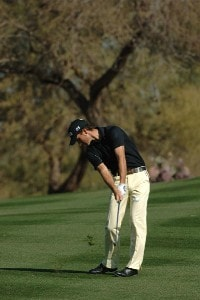 Alejandro Canizares during the third round of the 2007 FBR Open held at the TPC Scottsdale, Scottsdale, Arizona on February 3, 2007. PGA TOUR - 2007 FBR Open - Third Round - February 3, 2007Photo by Marc Feldman/WireImage.com