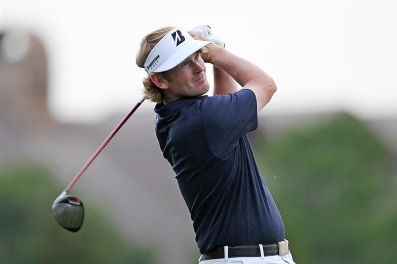 PLANO, TX - MAY 23: Brandt Snedeker hits his tee shot on the first playoff hole during the Open Qualifying Competition at Gleneagles Country Club on May 23, 2011 in Plano, Texas. (Photo by Hunter Martin/Getty Images)