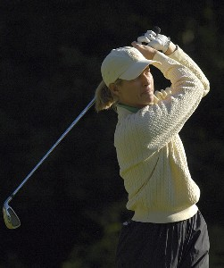 Maggie Will during the second round of the Canadian Women's Open at the London Hunt and Country Club in London, Ontario on August 11, 2006.