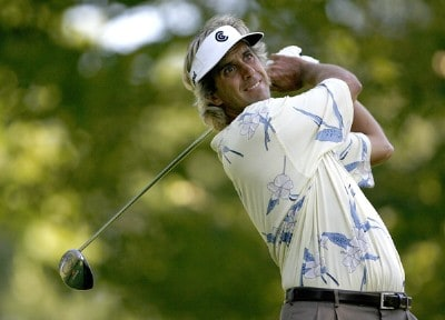 Pat Bates in action during the first round of the 2006 Xerox Classic at the Irondequoit Country Club in Rochester, New York, Friday, August 11, 2006
