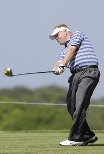 Carl Pettersson of Sweden during the third round of the WGC-Barbados World Cup held on the Country Club Course at the Sandy Lane Resort in St. James, Barbados on December 9, 2006. PGA TOUR - WGC - 2006 Barbados World Cup - Third RoundPhoto by Steve Levin/WireImage.com
