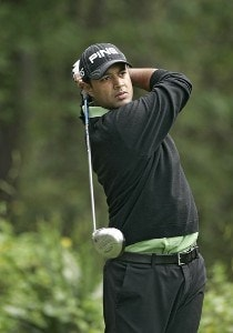 Arjun Atwal during the second round ofTHE PLAYERS Championship held at the TPC Stadium Course in Ponte Vedra Beach, Florida on March 24, 2006.Photo by Stan Badz/PGA TOUR/WireImage.com