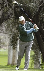 Raymond Floyd in action during the first round of the 2006 AT&T Classic on Friday, March 10, 2006 at  Valencia Country Club in Valencia, CaliforniaPhoto by Marc Feldman/WireImage.com