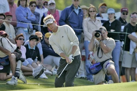 Tim Petrovic in action during the final round of the Zurich Classic of New Orleans, May 1,2005, held at the TPC of Louisiana GC,  Avondale, La. Petrovic beat James Driscoll in a one hole playoff to win the tournament.Photo by Stan Badz/PGA TOUR/WireImage.com