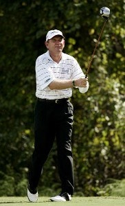 Nick Price during the second round of the 2006 FUNAI Classic at WALT DISNEY WORLD Resort on the Magnolia Course and the Palm Course in Lake Buena Vista, Florida, on October 20, 2006. PGA TOUR - 2006 FUNAI Classic at the WALT DISNEY WORLD Resort - Second RoundPhoto by Sam Greenwood/WireImage.com
