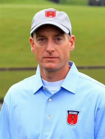 NEWPORT, WALES - SEPTEMBER 28:  Jim Furyk of the USA poses for a portrait during the USA Team Photocall prior to the 2010 Ryder Cup at the Celtic Manor Resort on September 28, 2010 in Newport, Wales.  (Photo by David Cannon/Getty Images)