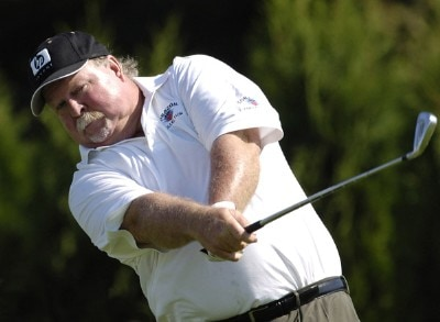 Craig Stadler during the third round of the JELD-WEN Tradition at The Reserve Vineyards & Golf Club in Aloha, Oregon on Saturday, August 26, 2006.Photo by Steve Levin/WireImage.com