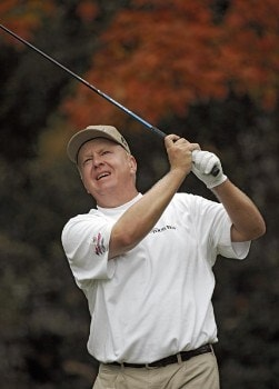 Billy Mayfair during the final round of THE TOUR Championship at East Lake Golf Club in Atlanta, Georgia on November 6, 2005.Photo by Sam Greenwood/WireImage.com