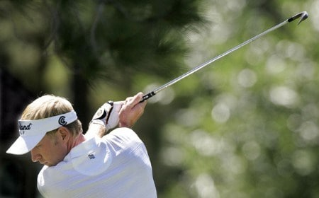 Vaughn Taylor leads the third round at the Reno-Tahoe Open,  August 20, 2005, held at Montreux GC, Reno, Nevada.Photo by Stan Badz/PGA TOUR/WireImage.com