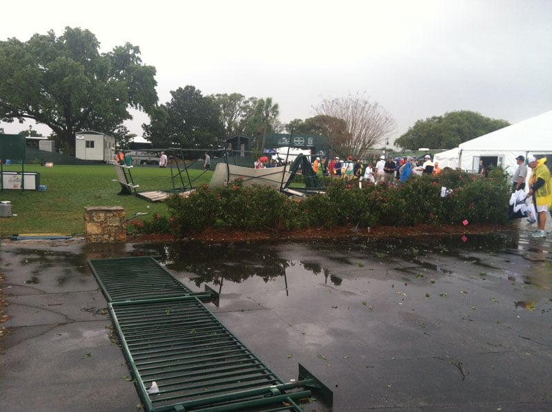 Bay Hill storm damage