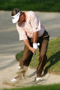 Bobby Wadkins during the second round of the Ford Senior Players Championship held at TPC Michigan in Dearborn, Michigan, on July 14, 2006.