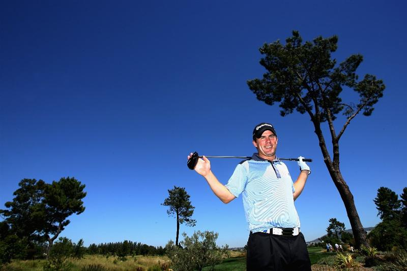PAARL, SOUTH AFRICA - DECEMBER 16:  Richie Ramsey of Scotland poses for a picture during practice before the South African Open Championship at Pearl Valley Golf Club on December 16, 2008 in Paarl, South Africa.  (Photo by Warren Little/Getty Images)