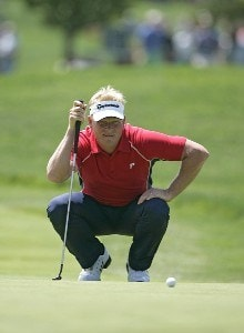 Peter Hedblom during the first round of the 2006 U.S. Open Golf Championship at Winged Foot Golf Club in Mamaroneck, New York on June 15, 2006.Photo by Michael Cohen/WireImage.com