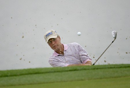 Ben Crenshaw competes in the first round of the Champions Tour Outback Steakhouse Pro-Am at the TPC at Tampa Bay in Lutz, FL