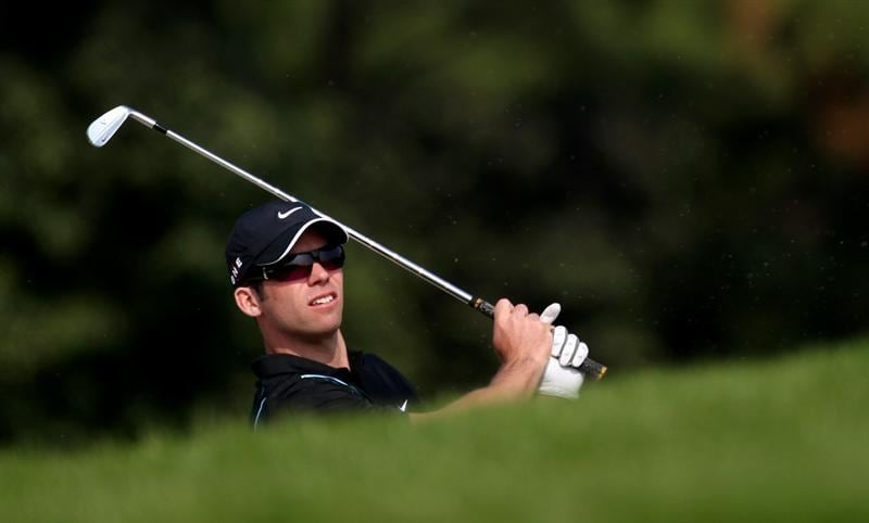SHANGHAI, CHINA - NOVEMBER 04:  Paul Casey of England during the first round of the WGC - HSBC Champions at Sheshan International Golf Club on November 4, 2010 in Shanghai, China.  (Photo by Ross Kinnaird/Getty Images)