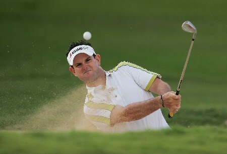 HONOLULU - JANUARY 13:  Rory Sabbatini of South Africa hits out of a bunker on the 15th hole during the final round of the Sony Open at the Waialae Country Club on January 13, 2008 in Honolulu, Oahu, Hawaii.  (Photo by Jeff Gross/Getty Images)