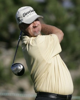 Andrew Magee in action during the first round at the Reno-Tahoe Open,  August 18,2005, held at Montreux GC, Reno, Nevada.Photo by Stan Badz/PGA TOUR/WireImage.com