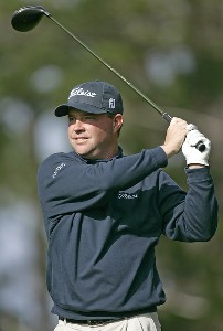 Brian Bateman during the third round of the  AT&T Pebble Beach National Pro-Am on Spyglass Hill Golf Course in Pebble Beach, California on February 11, 2006.