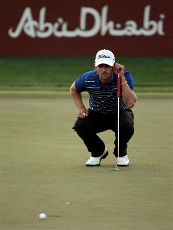 ABU DHABI, UNITED ARAB EMIRATES - JANUARY 22:  during the second round of the Abu Dhabi Golf Championship at the Abu Dhabi Golf Club on January 22, 2010 in Abu Dhabi, United Arab Emirates.  (Photo by Ross Kinnaird/Getty Images)