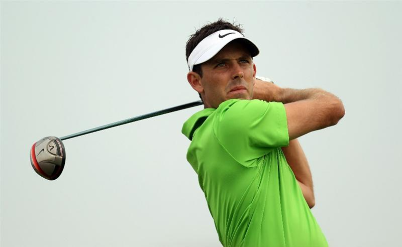 ABU DHABI, UNITED ARAB EMIRATES - JANUARY 22:  Charl Schwartzel of South Africa during the third round of the Abu Dhabi HSBC Golf Championship at the Abu Dhabi Golf Club on January 22, 2011 in Abu Dhabi, United Arab Emirates.  (Photo by Ross Kinnaird/Getty Images)
