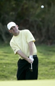 Troy Matteson on the 13th hole during the third round of the 2006 FUNAI Classic at WALT DISNEY WORLD Resort on the Magnolia Course in Lake Buena Vista, Florida, on October 21, 2006. PGA TOUR - 2006 FUNAI Classic at the WALT DISNEY WORLD Resort - Third RoundPhoto by Sam Greenwood/WireImage.com