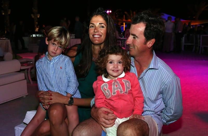 Gonzalo Fernandez-Castano and family