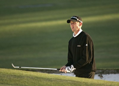 Vaughn Taylor during the third round of the 2007 Masters at the Augusta National Golf Club in Augusta, Georgia, on April 7, 2007. The 2007 Masters - Third RoundPhoto by Sam Greenwood/WireImage.com