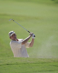 Jason Bohn  in action during the first round of the Ford Championship at Doral Golf Resort and Spa in Miami, Florida on March 2, 2006.Photo by Michael Cohen/WireImage.com