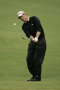 Greg Owen  during the third round of the Chrysler Classic of Greensboro at Forest Oaks Country Club in Greensboro, North Carolina on October 7, 2006. PGA TOUR - 2006 Chrysler Classic of Greensboro - Third RoundPhoto by Michael Cohen/WireImage.com