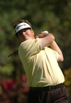 Tim Herron during continuation of the third round for THE PLAYERS Championship at the Tournament Players Club at Sawgrass in Ponte Vedra Beach, Florida on March 28, 2005.