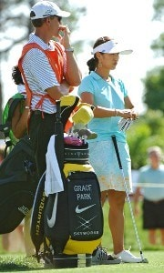 Grace Park during the second round of the LPGA, Inaugural, Ginn Open on Friday, April 28, 2006 at the Reunion Resort and Club in Reunion, Florida.Photo by Marc Feldman/WireImage.com