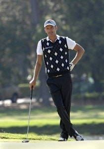 Jesper Parnevik on the 13th green during the first round of the 2006 Chrysler Championship Oct. 26 in Palm Harbor, Fl. PGA TOUR - 2006 Chrysler Championship - First RoundPhoto by Al Messerschmidt/WireImage.com