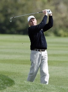 Wayne Levi plays his second shot from the third fairway during the final round of the 2007 Outback Steakhouse Pro-Am Sunday, February 18, 2007, at the TPC of Tampa bay in Tampa, Florida. Champions Tour - 2007 Outback Steakhouse Pro-Am - Final RoundPhoto by Kevin C.  Cox/WireImage.com