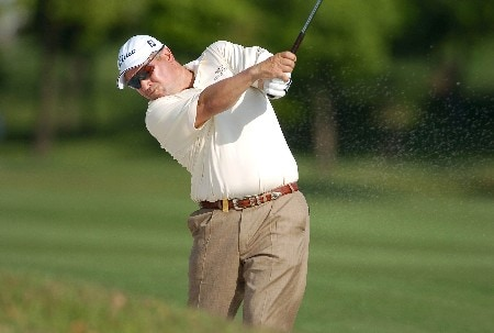 Peter O'Malley of Australia during the first round of the 2005 BMW Asian Open at Tomson Golf Club in Shanghai, China on April 28,2005Photo by Jeff Crow/WireImage.com