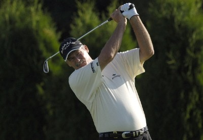 R.W. Eaks during the second round of the JELD-WEN Tradition at The Reserve Vineyards & Golf Club in Aloha, Oregon on Friday, August 25, 2006.Photo by Steve Levin/WireImage.com