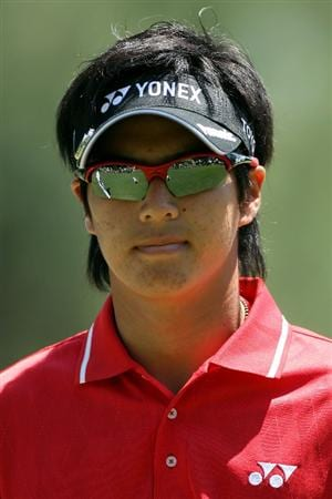 AUGUSTA, GA - APRIL 09:  Ryo Ishikawa of Japan walks across the first green during the second round of the 2010 Masters Tournament at Augusta National Golf Club on April 9, 2010 in Augusta, Georgia.  (Photo by Andrew Redington/Getty Images)