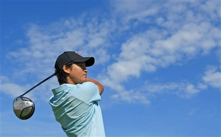 EDINA, MN - JUNE 24:  Yani Tseng of Chinese Taipei hits a shot during a practice round prior to the start of the 2008 U.S. Women's Open at Interlachen Country Club on June 23, 2008 in Edina, Minnesota.  (Photo by Scott Halleran/Getty Images)