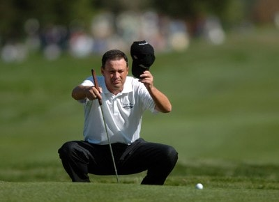 Loren Roberts in action during the third round of the 2006 Charles Schwab Cup Championship at the Sonoma Golf Club, in Sonoma, California on October 28, 2006. Champions Tour - 2006 Charles Schwab Cup Championship - Third RoundPhoto by Steve Grayson/WireImage.com