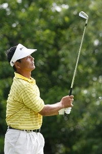 Hajime Meshiai competes in the third and final round of the Allianz Championship held at Glen Oaks Country Club in West Des Moines, IA, on June 4, 2006.Photo by: Stan Badz/PGA TOUR