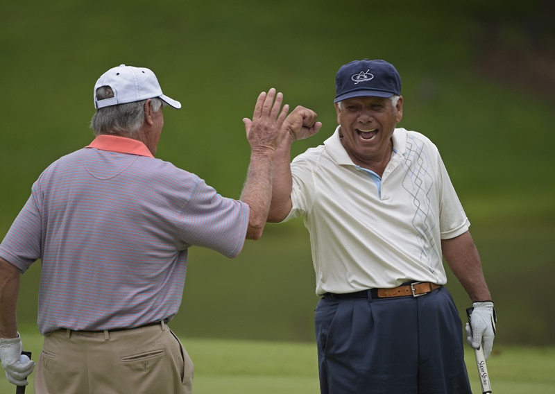 Mike Hill and Lee Trevino
