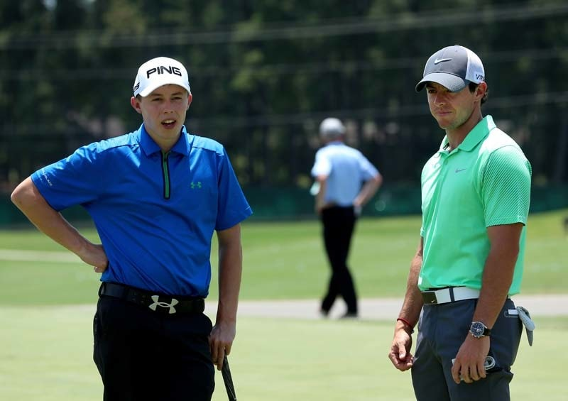 Matthew Fitzpatrick and Rory McIlroy