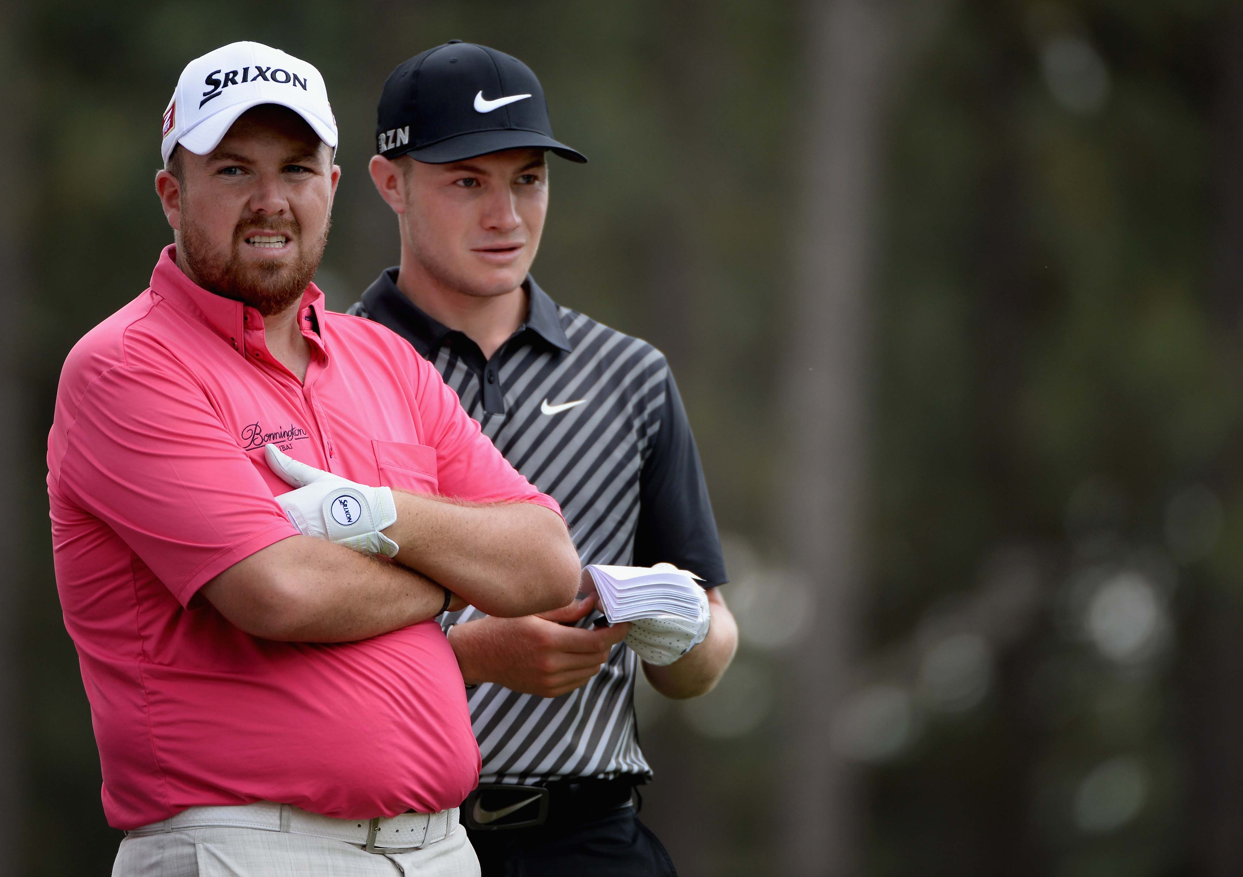 Shane Lowry and Oliver Fisher