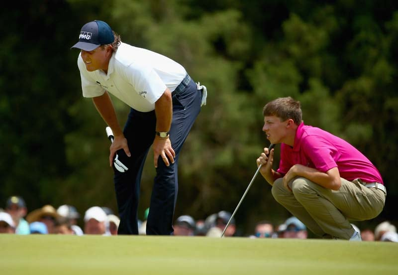 Phil Mickelson and Matthew Fitzpatrick