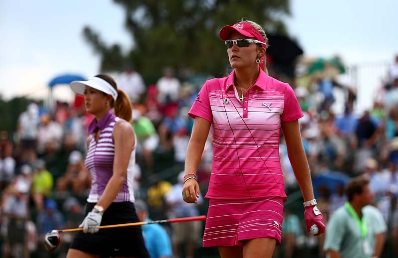 Michelle Wie and Lexi thompson