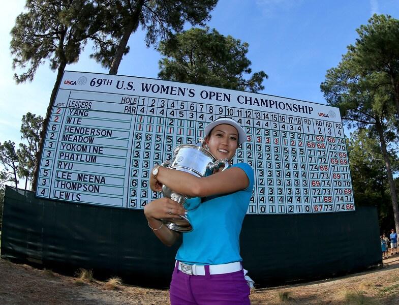 8. Michelle Wie wins a major
