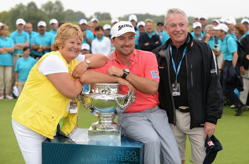 Graeme McDowell at the 2014 French Open