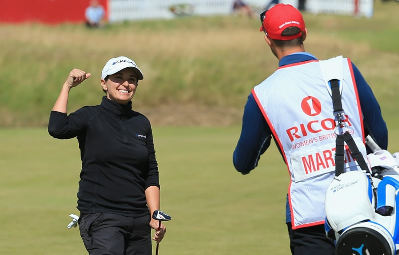 Women's British Open: Mo Martin