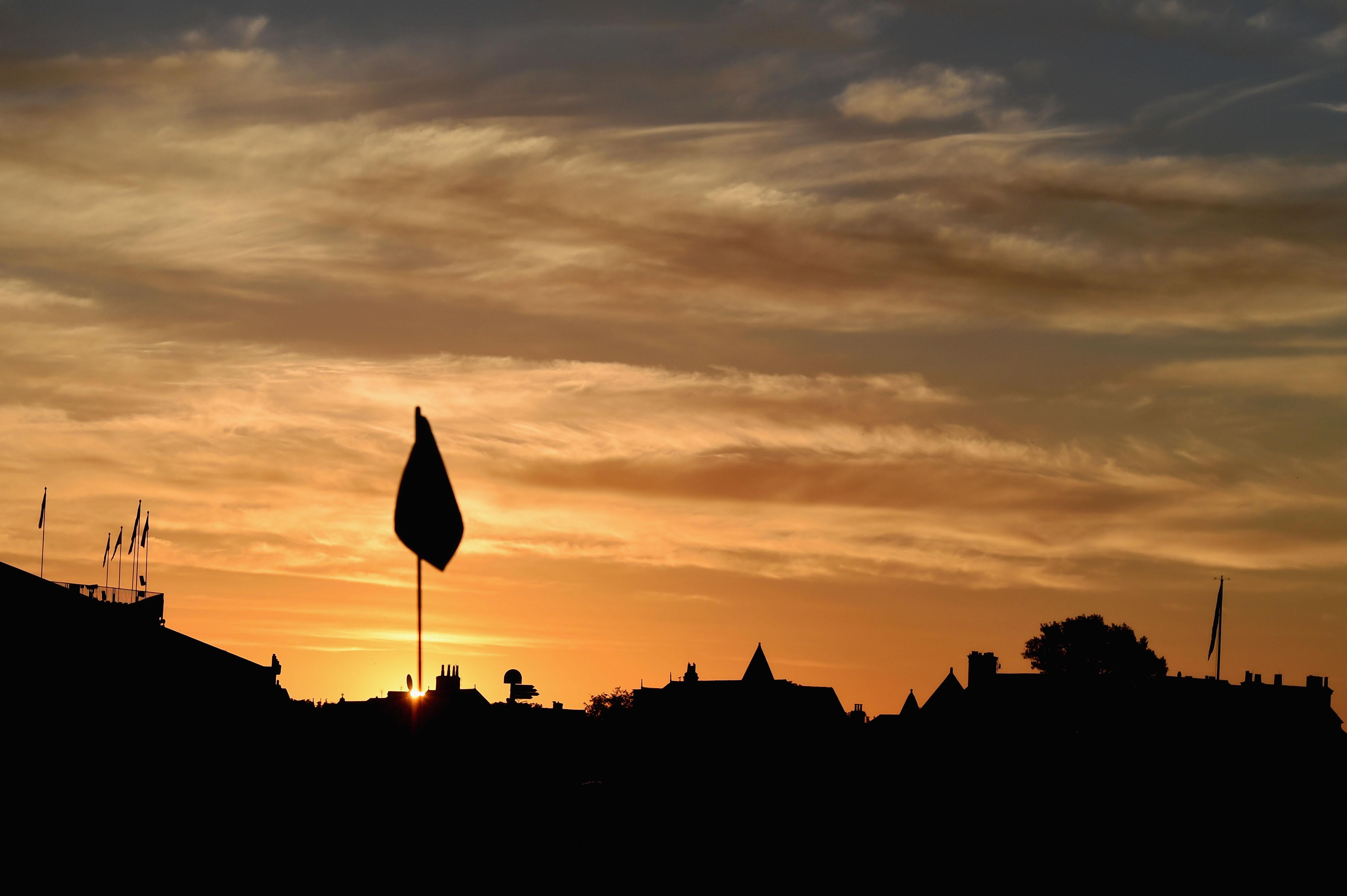 Sunrise at Hoylake