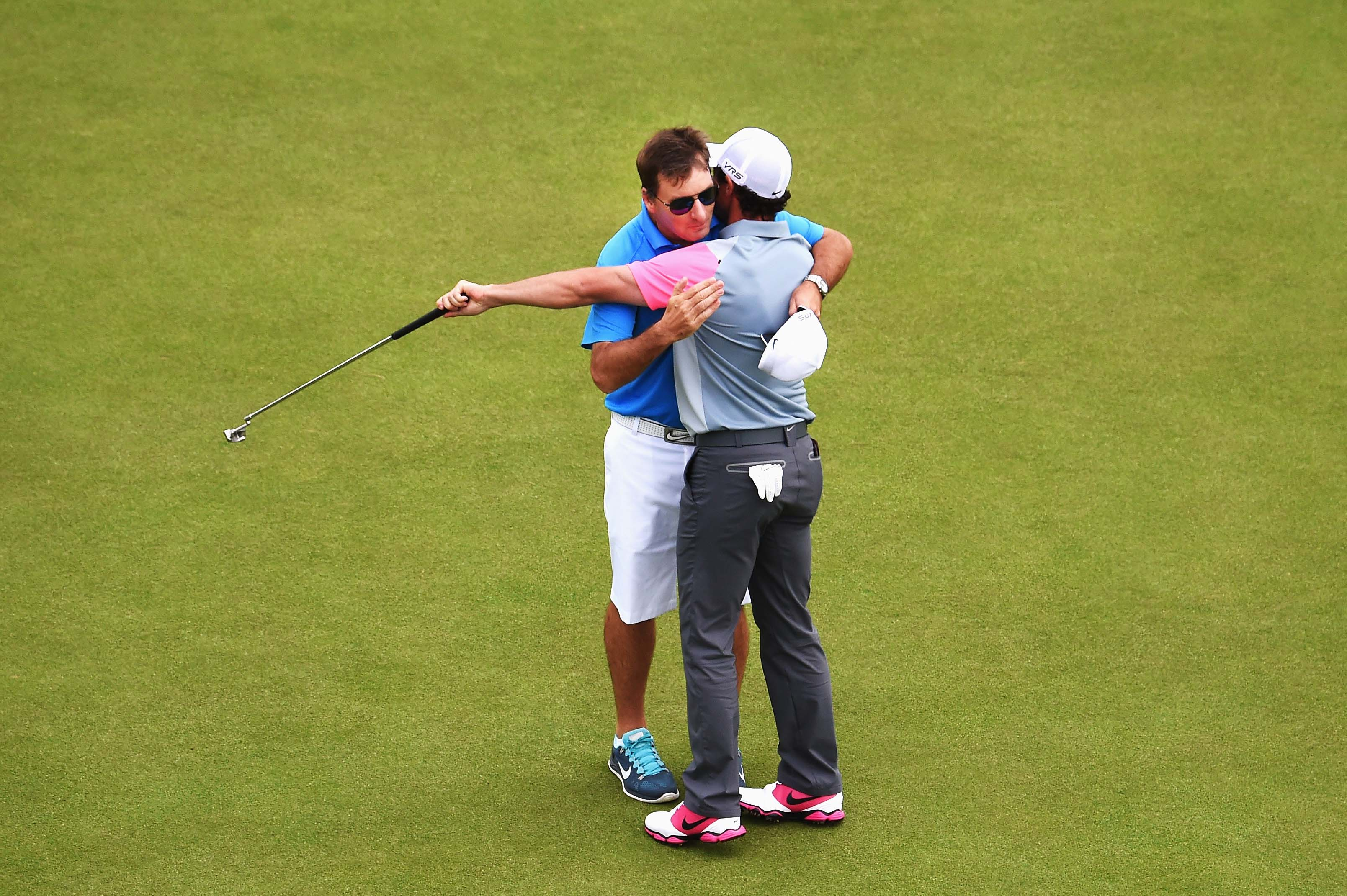 Rory McIlroy and JP Fitzgerald